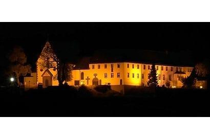 Das Franziskanerkloster Engelberg bei 63920 Großheubach. Die Kl