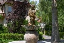 Ein Brunnen im Kurpark Bad Mergentheim