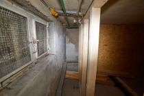 2 Heizkörper mussten von der Verohrung im Keller getrennt werden, da diese in den Pelletraum gingen. Im Pelletraum darf sich nichts (Verohrung, elektrische Leitungen) befinden.