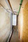 Notsystem für warmes Wasser. Nur in der EG-Dusche.