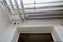 Zuleitungen und Ethernet in Lehrrohrmontage innerhalb vom Heizungsraum.