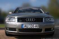 Das Kraftpacket Audi A8 quattro ist eine Luxuslimousine und sucht einen Bändiger für den 334 PS (246KW) starken Motor, der unter der Motorhaube gut verpackt ist.