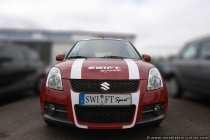 Der Suzuki Swift Sport gehört zur Kompaktwagenklasse und hat ein attraktives Wagendesign.