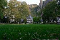 Herbstliches Kurhaus Bad Muenster am Stein