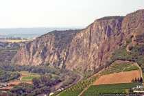Die höchste Steilwand nördlich der Alpen mit 202m, der Rotenfels.