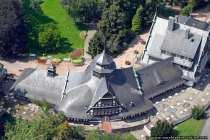 Kurhaus von Oben bei Bad Muenster am Stein