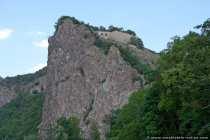 Teufelsfelsen mit Burgruine Rheingrafenstein