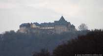 Schloss Waldeck befindet sich im Norden des Naturparks Kellerwald-Edersee