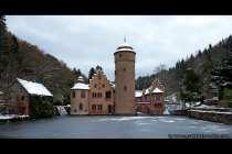 Schloss Mespelbrunn liegt im Spessart-Tal zwischen Würzburg und Frankfurt am Main und hat Filmerfahrung
