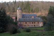Schlossanlage Mespelbrunn im Spessart