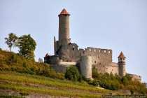 45 Jahre lang lebte auf dieser Burg und Ruine Götz von Berlichingen.