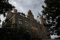 Auf der Burg Klopp. Von hier werden meist die Großfeuerwerke organisiert, vorbereitet und abgefeuert.