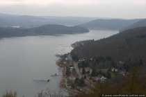 Edersee mit Uferblick vom Schloss Waldeck