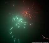 Leuchtende Explosion