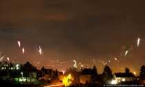 Feuerwerk über Rüdesheim am Rhein