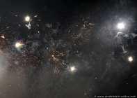 Verrauchtes Feuerwerk