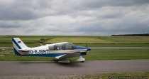 Robin DR400 auf dem Wallduerner Flughafen