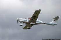 Diamond DA40TDI mit Kennung D-EQAI (Dieselflugzeug)
