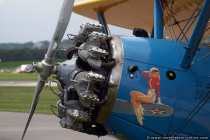 Flugzeugmotor Stearman PT17
