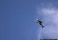 Airshow-Pilot Jean-Pierre Fallis zeigte beeindruckende Flugkuenste