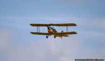 Doppeldeckerflugzeug Tiger-Moth