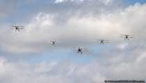 Doppeldecker Flugzeuge - Byebye