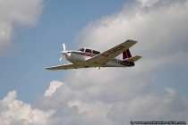 Mooney Aircraft M20J mit Kennung D-EMOA - Rundfluege in Wallduern