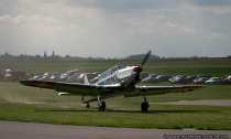 Flugzeug Pilatus P2 - Wallduern