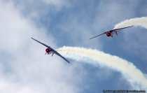 T6 spektakulaere Flugmanoever