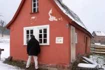 Die Häuser waren früher kleiner, da auch die Menschen kleiner waren.