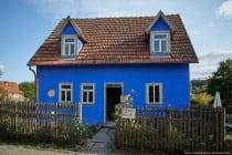 Das Schäferhaus aus Gerolzahn wurde 1870 erbaut und im Odenwälder Freilandmuseum Baugruppe 4 im Jahre 1988-1990 wiederaufgebaut. Die Darstellung entspricht den Jahren 1938 bis 1945