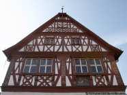 Detailansicht vom Rathaus in Groß Gerau
