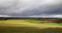 Eine Herbstlandschaft nähe Bad Mergentheim