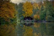 Die Hütte am Marstadter See wurde einst für Festlichkeiten verpachtet.