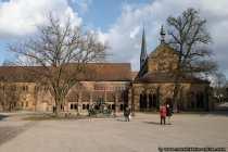 Kloster Maulbronn. Romanische, spaeter gotisierte Klosterkirche.