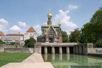 Russische kapelle in Darmstadt auf der Wilhelmshöhe