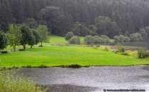 Landschaftsfoto mit Regen in Marbach (Odenwald)