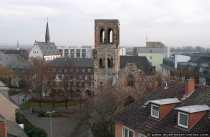 Die frühgotische Kirche St. Christoph war einst der Taufort von Jahannes Gutenberg.
