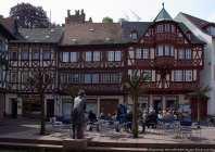 Miltenberg - Altstadt - old town. Besonders die wunderschönen un dgepflegten Fassaden von den Fachwerkhäusern fallen einem in dieser Altstadt immer wieder positiv auf.