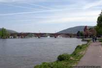 Mainbruecke Miltenberg - Bridge Miltenberg at the main-river