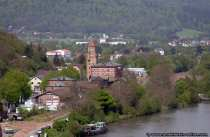 1379 wurde das Mainzer Tor als aeusserster westlicher Begrenzungspunkt erwaehnt - Mainzer Gate at Miltenberg