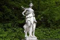 Eine von vielen Figuren die sich an den unterschiedlichen Plätzen, teilweise mit Brunnen, finden lassen.