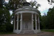 Der Freundschaftstempel ist ein kleinder Rundtempel im Park Sanssouci