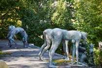 Skulpturen überall