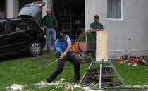 Beim Timbersport gibt es 6 Disziplinen