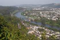 Blick auf die Kaiser-Wilhelm-Brücke von der Mariensäule