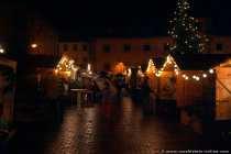 Weihnachtsmarkt in Hardheim (Odenwald).