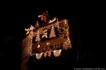 Weihnachtshaus in Darmstadt Weiterstadt.