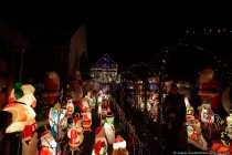 Das weihnachtlich geschmückte Haus in Veitshöchheim stellt alles in den Schatten.