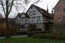 Weikersheim, eine Stadt in Tauberfranken im nordosten von Baden-Württemberg. Die historische Stadt, welche an die bayerischen Orte Röttingen und Tauberrettersheim, sowie an Creglingen, Niederstetten, Bad Mergentheim und Igersheim angrenzt, gehört zum Main-Tauber-Kreis